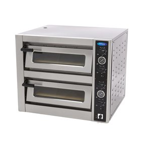 Maxima Deluxe Four à Pizza 4 + 4 x 30 cm 400V