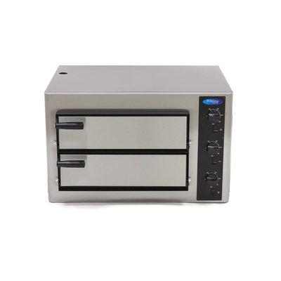 Maxima Deluxe Pizza Oven 4 + 4 x  25 cm Dubbel 400V
