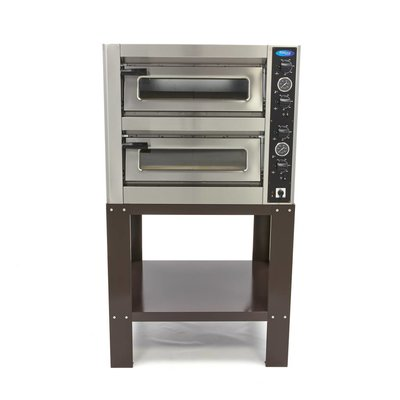 Maxima Gestell Deluxe Pizzaofen 4 + 4 x 30 cm Doppelt