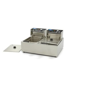 Maxima Electric Fryer 2 x 6L