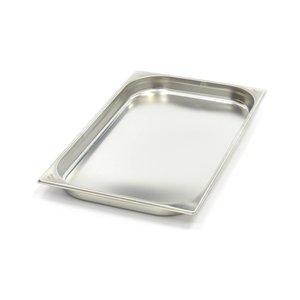 Maxima Gastronormbehälter aus Edelstahl 1/1GN   40mm   530x325mm