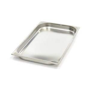 Maxima Stainless Steel Gastronorm Container 1/1GN | 40mm | 530x325mm