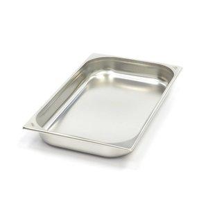 Maxima Gastronormbehälter aus Edelstahl 1/1GN   65mm   530x325mm