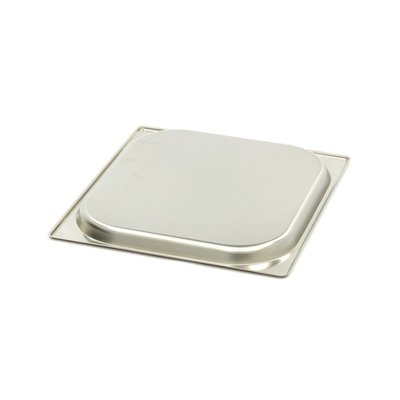 Maxima Gastronormbehälter aus Edelstahl 2/3GN   20mm   325x354mm