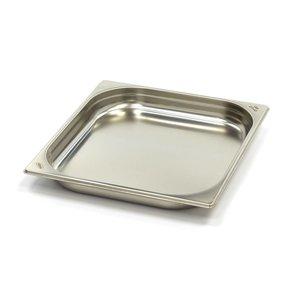 Maxima Conteneur Gastronome Inox 2/3GN | 40mm | 325x354mm