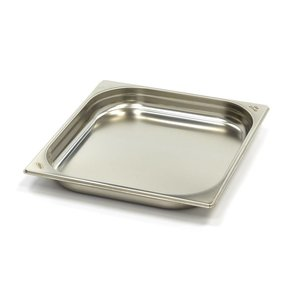 Maxima Gastronormbehälter aus Edelstahl 2/3GN | 40mm | 325x354mm
