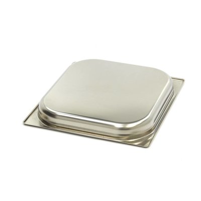 Maxima Gastronormbehälter aus Edelstahl 2/3GN   40mm   325x354mm