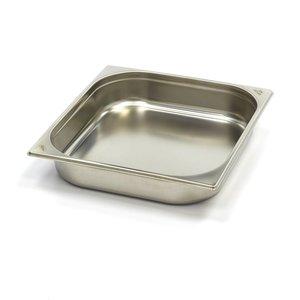 Maxima Gastronormbehälter aus Edelstahl 2/3GN   65mm   325x354mm
