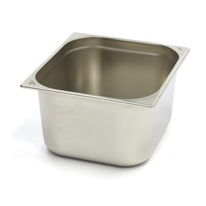 Maxima Gastronormbehälter aus Edelstahl 2/3GN   200mm   325x354mm