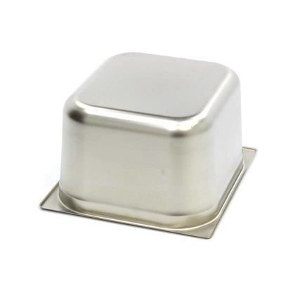Maxima Gastronorm Bak RVS 2/3GN | 200mm | 325x354mm