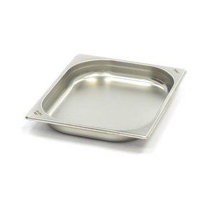 Maxima Conteneur Gastronome Inox 1/2GN | 40mm | 325x265mm