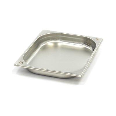 Maxima Gastronormbehälter aus Edelstahl 1/2GN | 40mm | 325x265mm