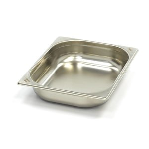Maxima Gastronormbehälter aus Edelstahl 1/2GN   65mm   325x265mm