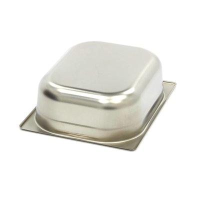 Maxima Gastronormbehälter aus Edelstahl 1/2GN | 100mm | 325x265mm