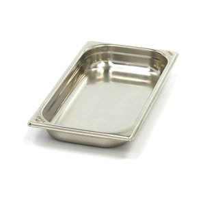Maxima Gastronormbehälter aus Edelstahl 1/3GN   40mm   325x176mm