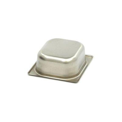 Maxima Gastronormbehälter aus Edelstahl 1/6GN | 65mm | 176x162mm