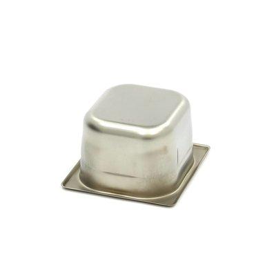 Maxima Gastronorm Bak RVS 1/6GN | 100mm | 176x162mm