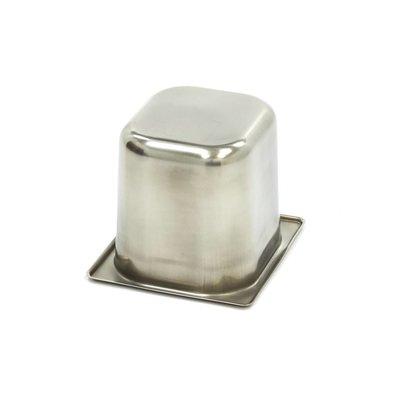 Maxima Gastronorm Bak RVS 1/6GN | 150mm | 176x162mm