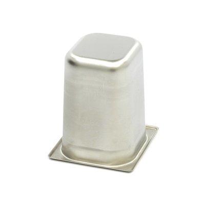 Maxima Gastronorm Bak RVS 1/6GN | 200mm | 176x162mm