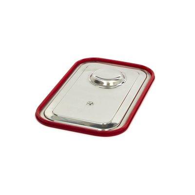 Maxima Gastronorm Deckel aus Edelstahl 1/1GN | Luftdichte Dichtung
