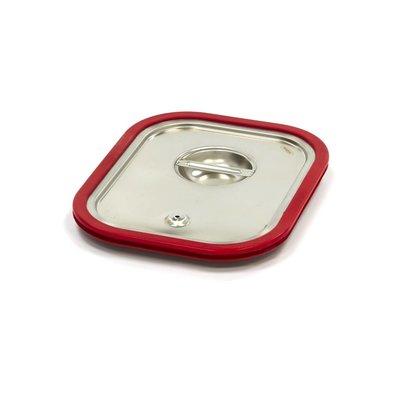 Maxima Gastronorm Deckel aus Edelstahl 1/2GN | Luftdichte Dichtung