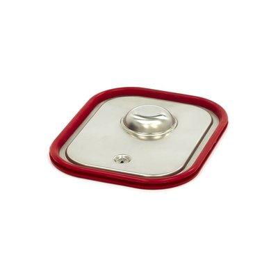 Maxima Couvercle Gastronome Inox 1/2GN | Joint Hermétique