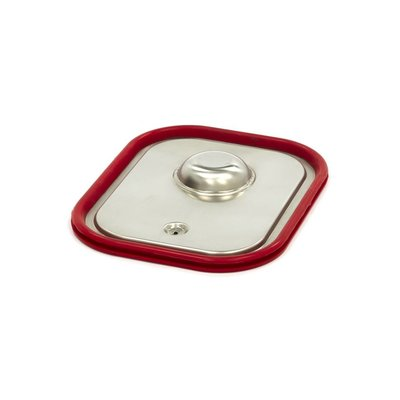 Maxima Stainless Steel Gastronorm Lid 1/2GN | Airtight Seal