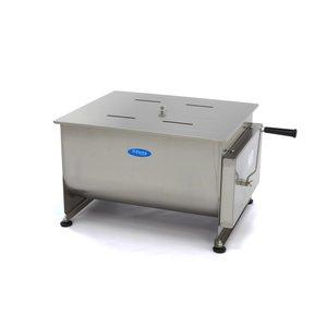Maxima Handmatige Vleesmixer / Vleesmenger 60 Liter - Dubbele As