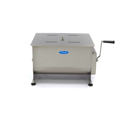 Maxima Manual Meat Mixer / Meat Blender 50 Liters - Double Axle