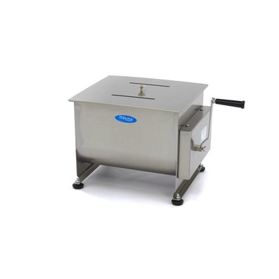 Maxima Manual Meat Mixer / Meat Blender 30 Liters - Double Axle