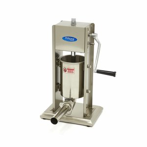 Maxima Sausage Filler 3L - Vertical - Stainless Steel - 4 Filling Tubes