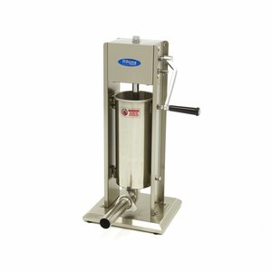 Maxima Sausage Filler 5L - Vertical - Stainless Steel - 4 Filling Tubes
