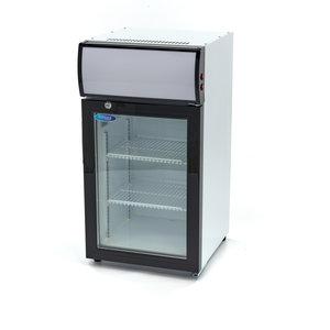Maxima Affichage refroidisseur / Réfrigérateur à Bouteilles 50L