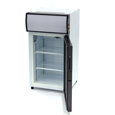 Maxima Displaykühler / Dosen-Kühlschrank / Flaschenkühler 50L