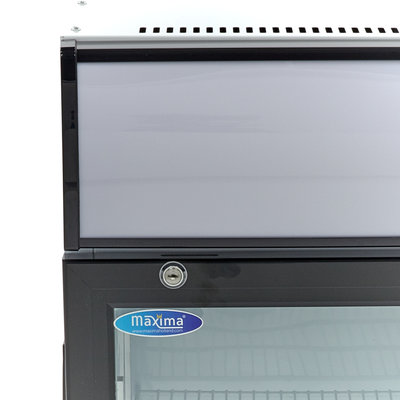 Maxima Displaykoeler / Blikjes Koelkast / Flessenkoeler 50L