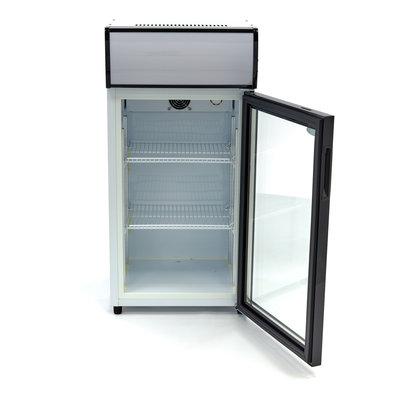 Maxima Display cooler / Can Fridge / Bottle Cooler 80L