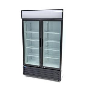 Maxima Affichage refroidisseur / Réfrigérateur à Bouteilles 700L