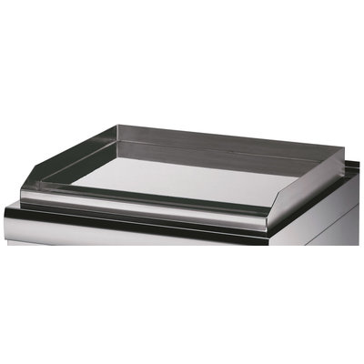 Maxima Heavy Duty Griddle Grooved Chrome - Double - Gas