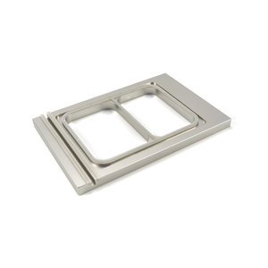 Maxima Menu Tray 227 x 178 mm - Small - 2 Compartments