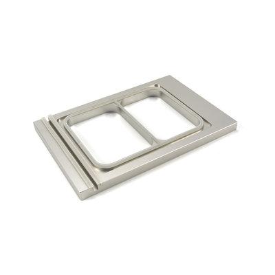 Maxima Menu Tray 227 x 178 mm - Small - 2 Compartments