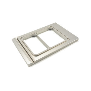 Maxima Menu Tray 225 x 175 mm - Small - 2 Compartments