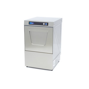 Maxima Small Commercial Dishwasher with Rinse Aid Pump VN-400 230V