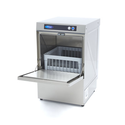 Maxima Mini Horeca Voorlader Vaatwasser met Afvoer & Zeeppompen VN-400 Ultra 230V