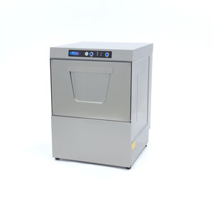 Maxima Commercial Frontloading Dishwasher with Rinse Aid Pump VN-500 230V
