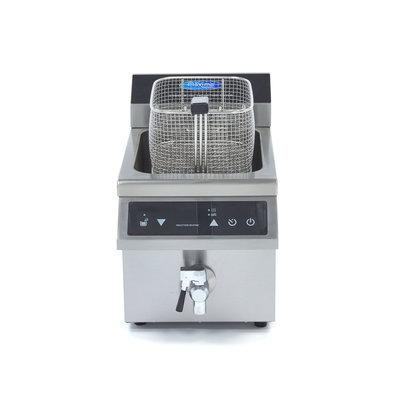 Maxima Induktionsfritteuse 1 x 8L mit Wasserhahn