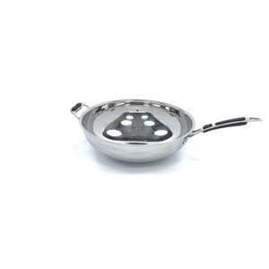 Maxima Stainless Steel Induction Wok Pan