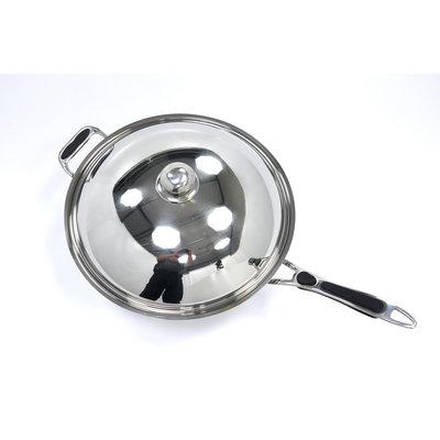 Maxima Induktions-Wok-Deckel aus rostfreiem Stahl