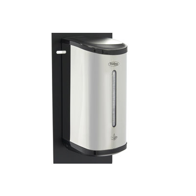 Maxima Contactloze Desinfectiezuil incl. Automatische Dispenser Zwart