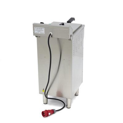 Maxima Elektrisch Fritteuse 1 x 16L mit Wasserhahn und Schränke
