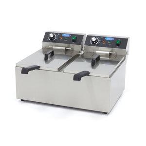 Maxima Deep Fryer 2 x 11L